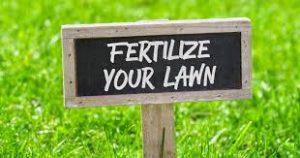 fertilize grass in fall